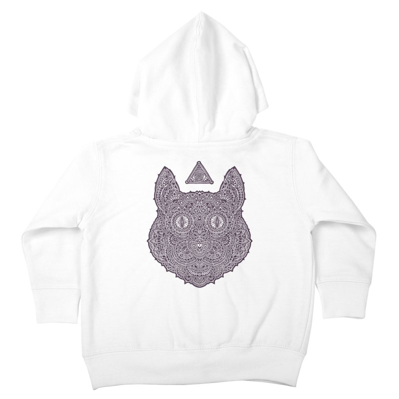 Cat Kids Toddler Zip-Up Hoody by oleggert's Artist Shop