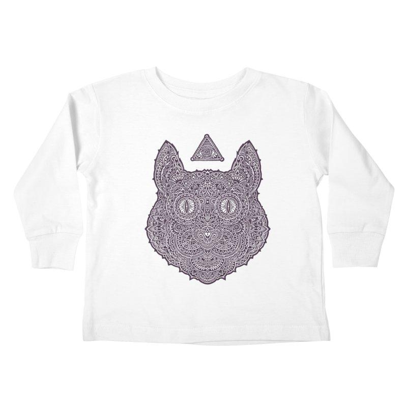 Cat Kids Toddler Longsleeve T-Shirt by oleggert's Artist Shop