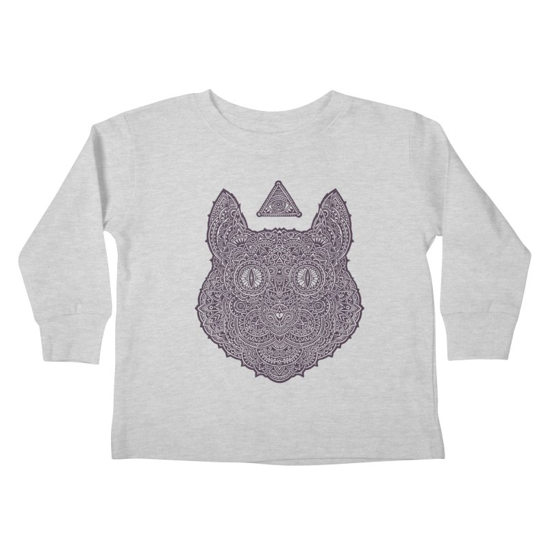 Cat Kids Toddler Longsleeve T-Shirt by oleggert's Artist Shop