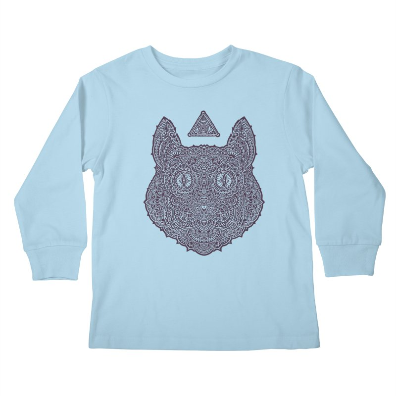 Cat Kids Longsleeve T-Shirt by oleggert's Artist Shop