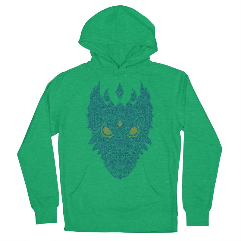 Space dragon Men's Pullover Hoody by oleggert's Artist Shop