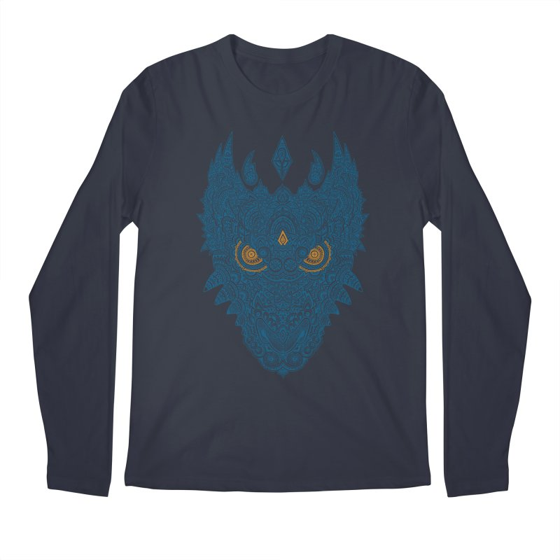 Space dragon Men's Longsleeve T-Shirt by oleggert's Artist Shop