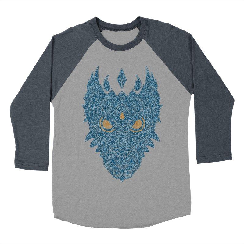 Space dragon Women's Baseball Triblend T-Shirt by oleggert's Artist Shop