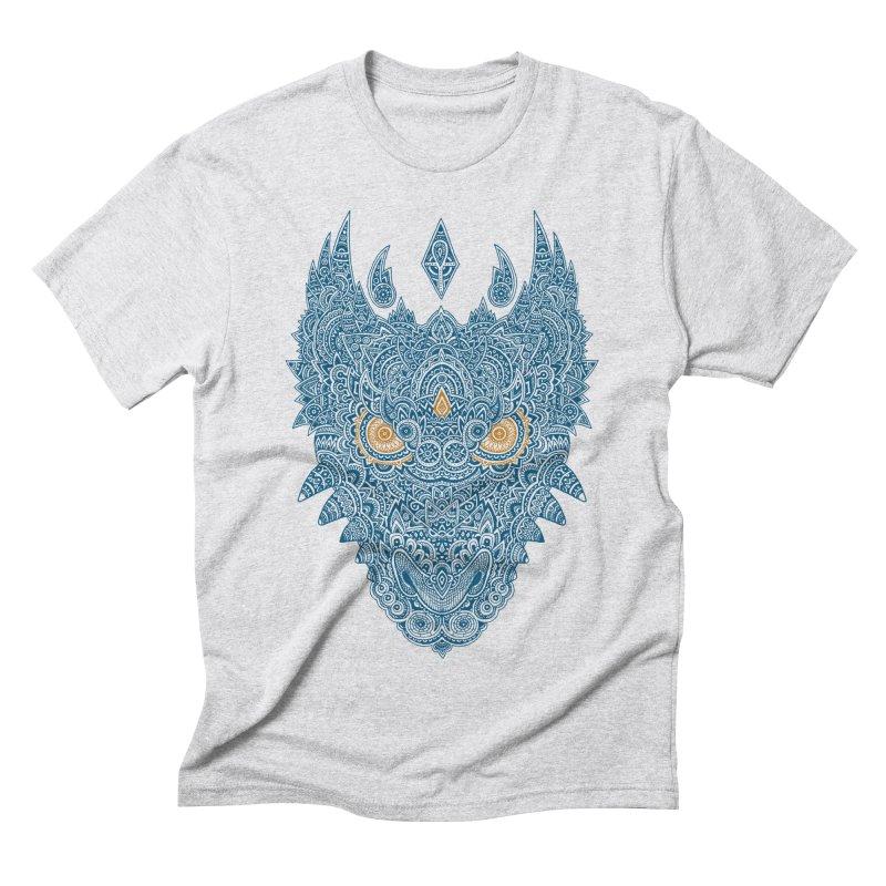 Space dragon Men's Triblend T-shirt by oleggert's Artist Shop