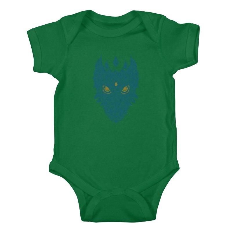 Space dragon Kids Baby Bodysuit by oleggert's Artist Shop