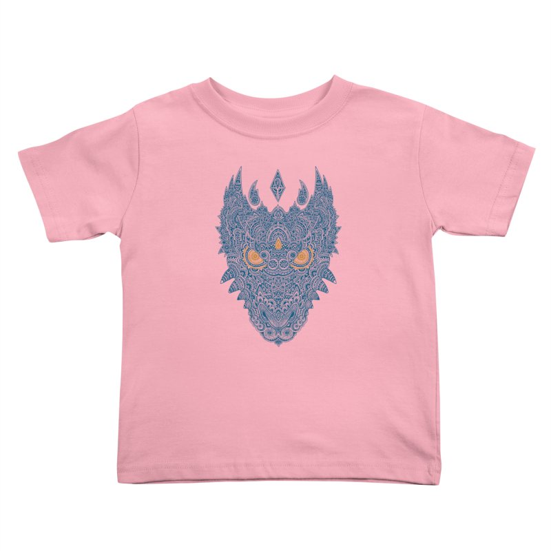 Space dragon Kids Toddler T-Shirt by oleggert's Artist Shop
