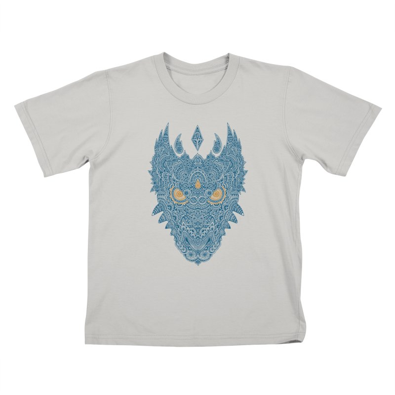 Space dragon Kids T-shirt by oleggert's Artist Shop