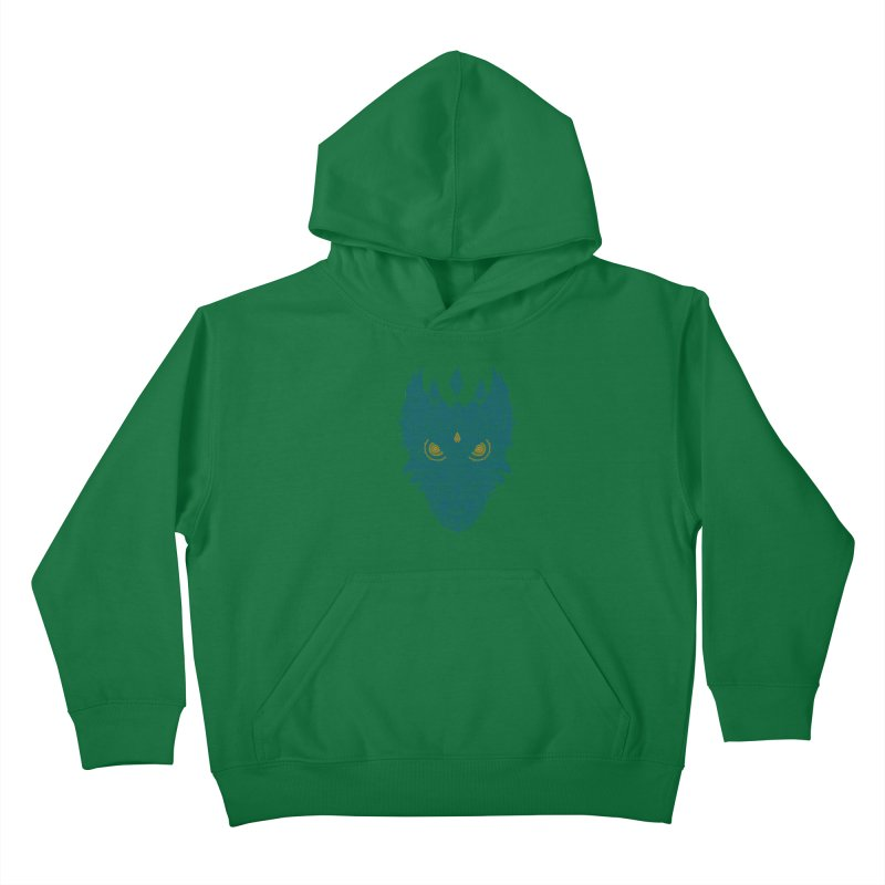 Space dragon Kids Pullover Hoody by oleggert's Artist Shop