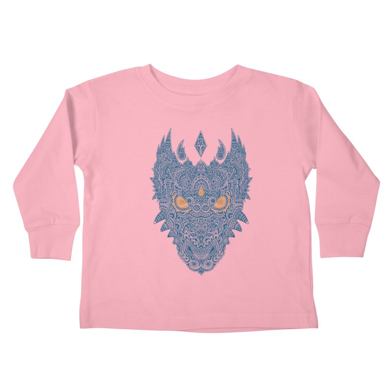 Space dragon Kids Toddler Longsleeve T-Shirt by oleggert's Artist Shop