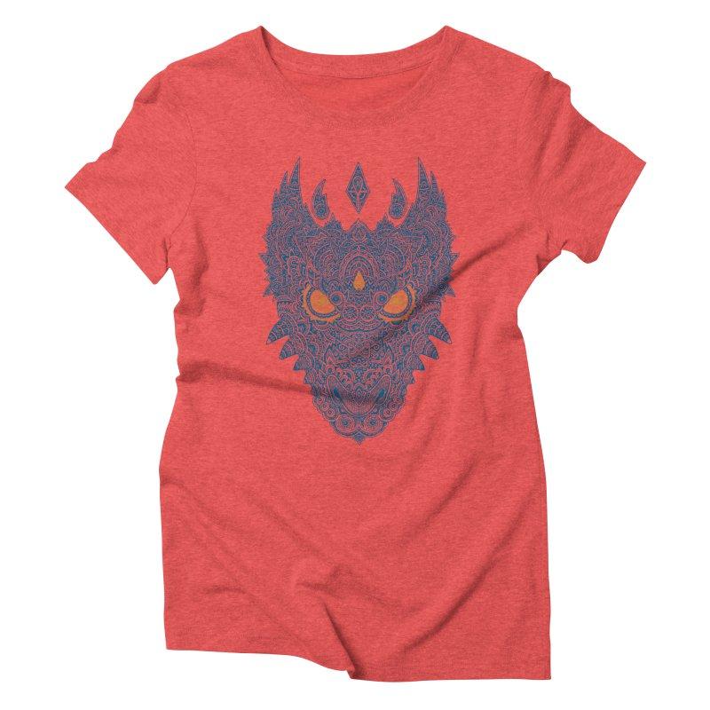 Space dragon Women's Triblend T-shirt by oleggert's Artist Shop