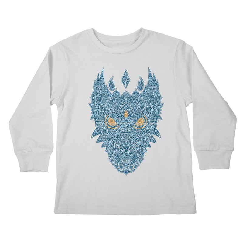 Space dragon Kids Longsleeve T-Shirt by oleggert's Artist Shop