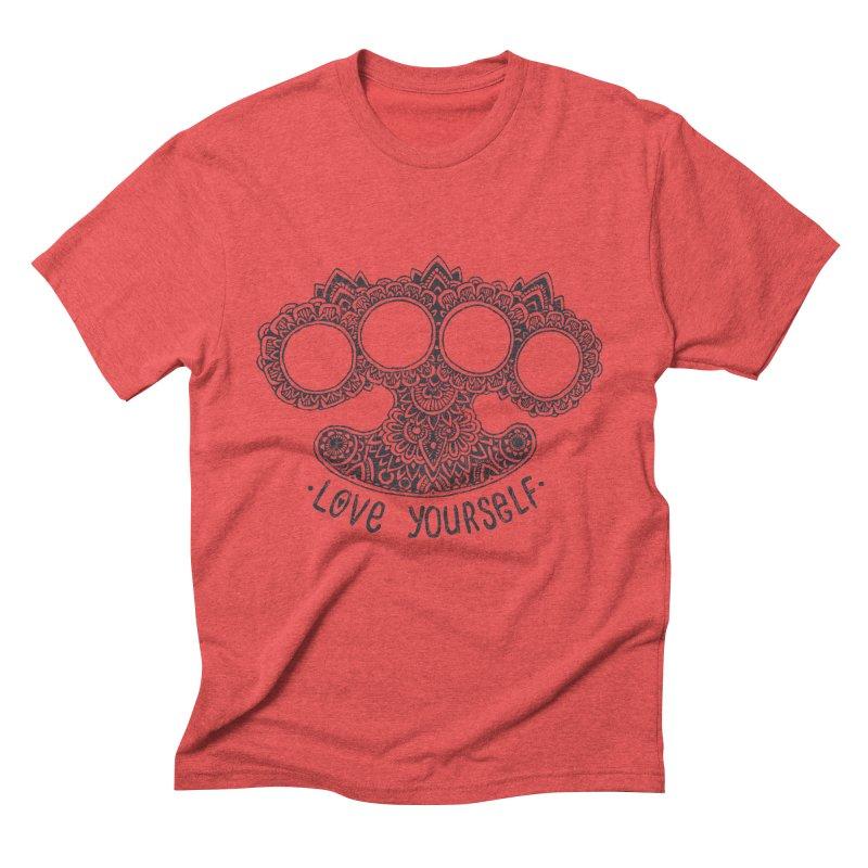 Love yourself Men's Triblend T-Shirt by oleggert's Artist Shop