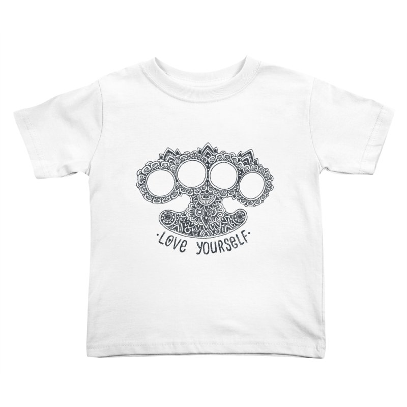 Love yourself Kids Toddler T-Shirt by oleggert's Artist Shop