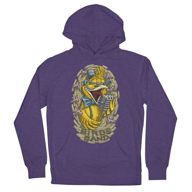 Birds band Men's Pullover Hoody by oleggert's Artist Shop