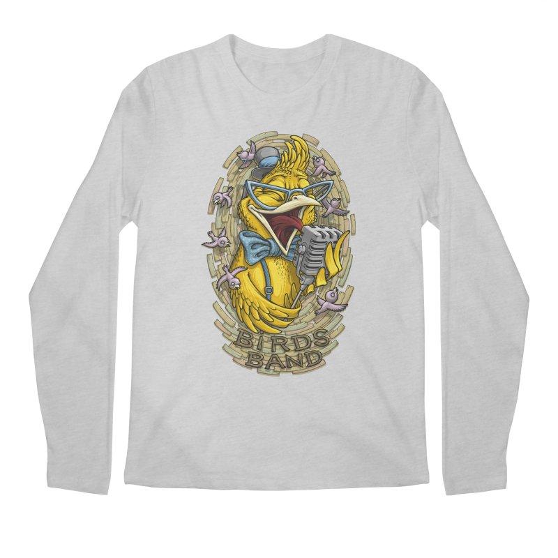 Birds band Men's Longsleeve T-Shirt by oleggert's Artist Shop