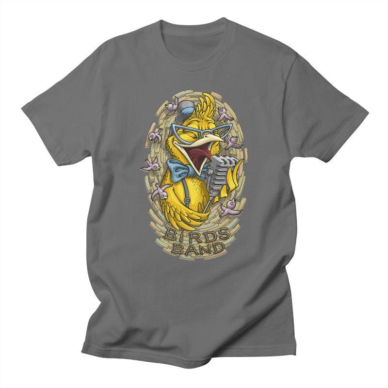 Birds band Men's T-shirt by oleggert's Artist Shop