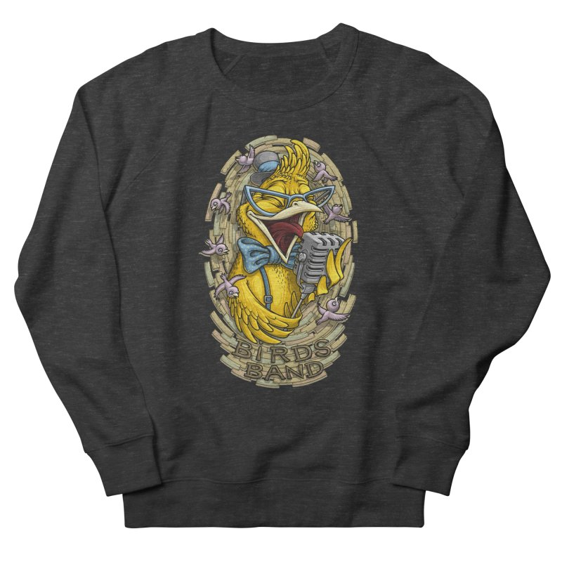 Birds band Women's Sweatshirt by oleggert's Artist Shop