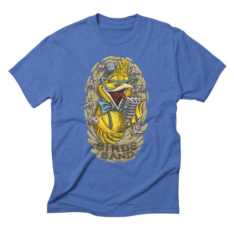 Birds band Men's Triblend T-Shirt by oleggert's Artist Shop