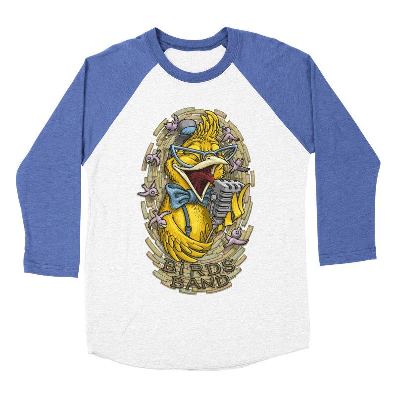 Birds band Men's Baseball Triblend T-Shirt by oleggert's Artist Shop