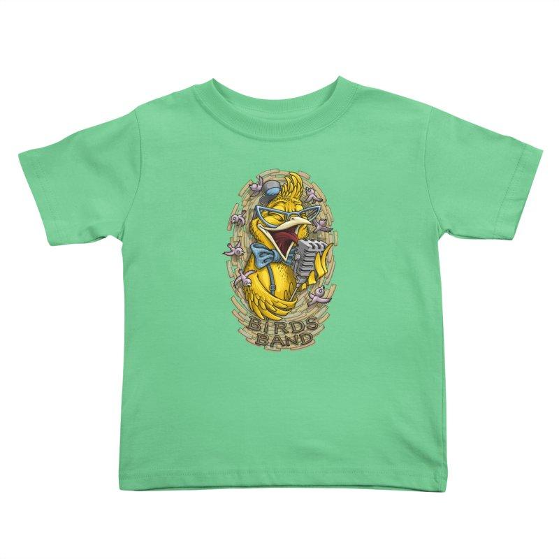 Birds band Kids Toddler T-Shirt by oleggert's Artist Shop