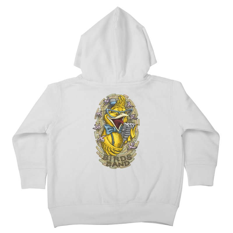 Birds band Kids Toddler Zip-Up Hoody by oleggert's Artist Shop