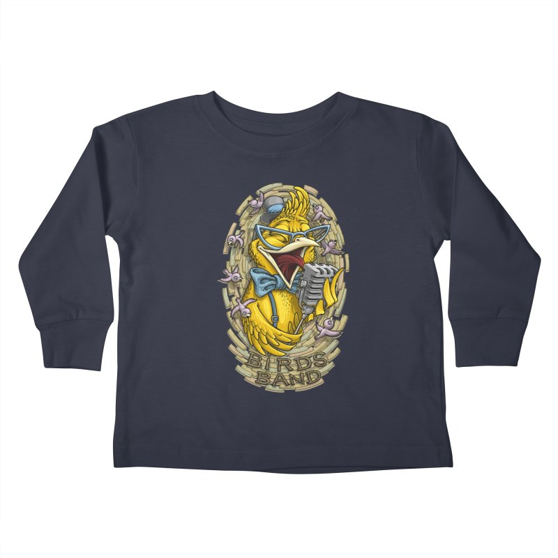 Birds band Kids Toddler Longsleeve T-Shirt by oleggert's Artist Shop