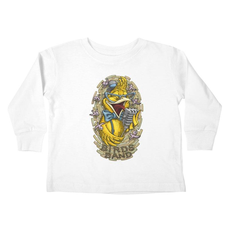 Birds band Kids Toddler Longsleeve T-Shirt by oleggert's Artist Shop