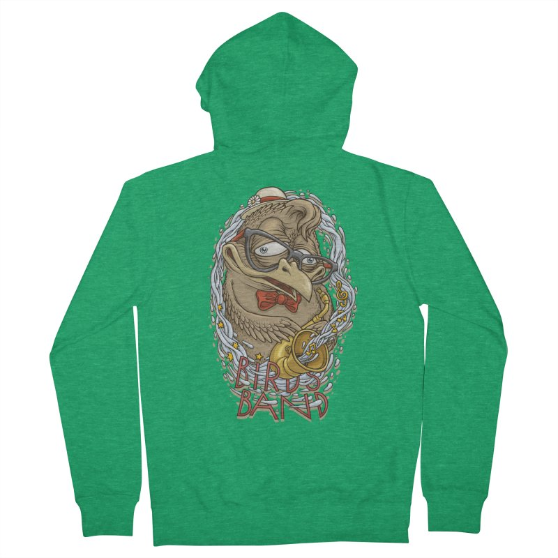 Birds band 2 Men's Zip-Up Hoody by oleggert's Artist Shop