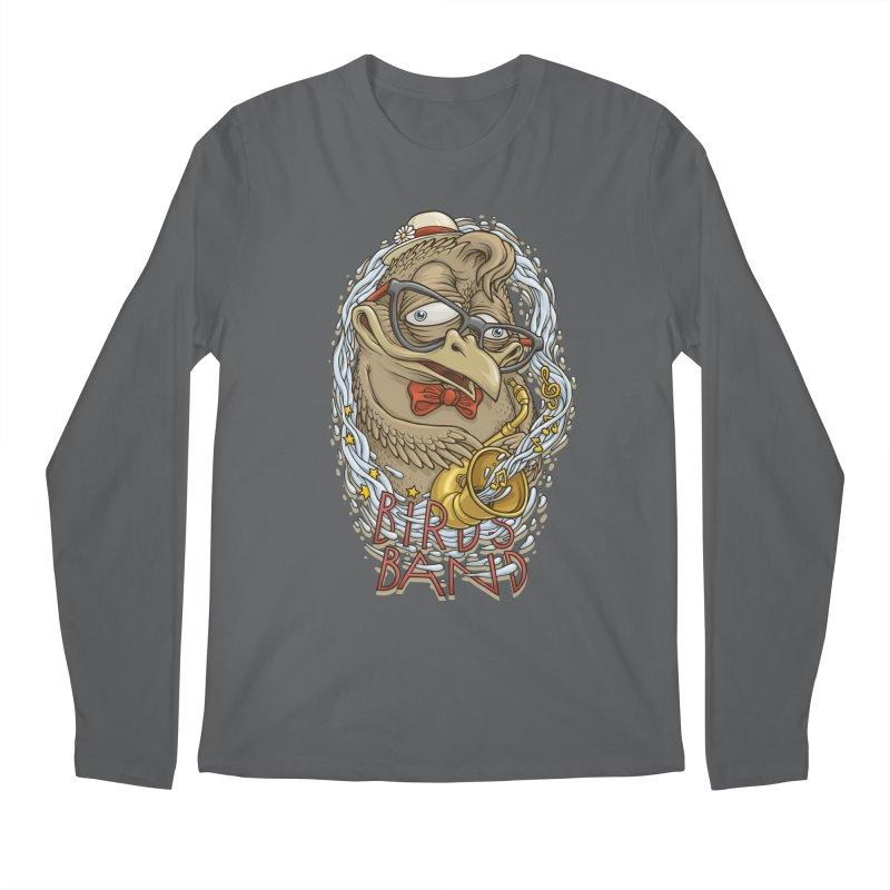 Birds band 2 Men's Longsleeve T-Shirt by oleggert's Artist Shop