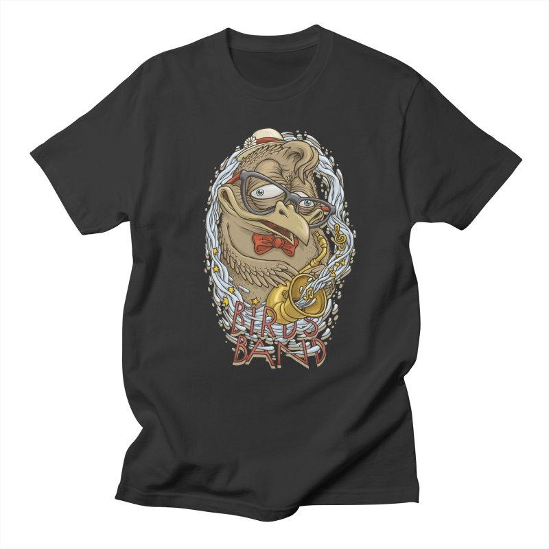 Birds band 2 Men's T-Shirt by oleggert's Artist Shop