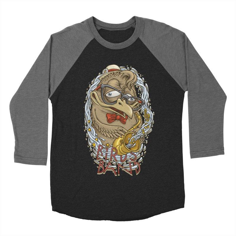 Birds band 2 Men's Baseball Triblend T-Shirt by oleggert's Artist Shop