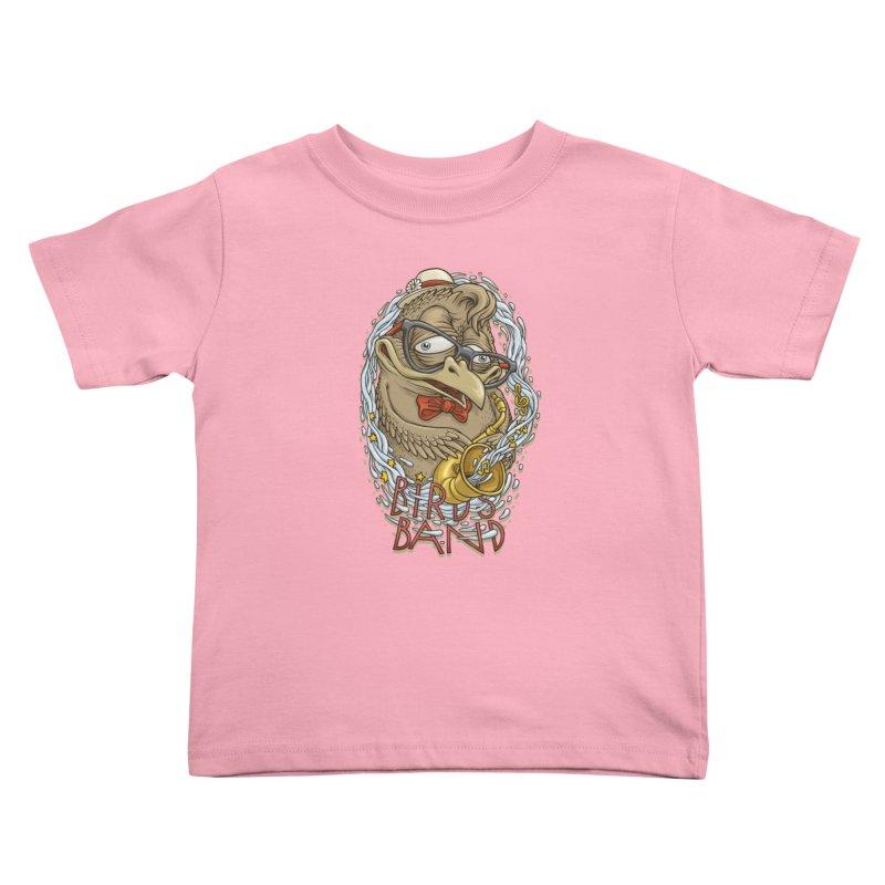 Birds band 2 Kids Toddler T-Shirt by oleggert's Artist Shop