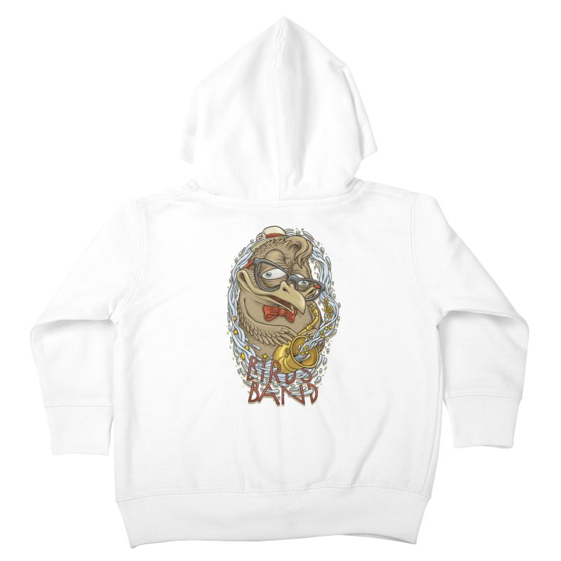 Birds band 2 Kids Toddler Zip-Up Hoody by oleggert's Artist Shop