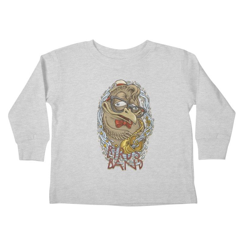 Birds band 2 Kids Toddler Longsleeve T-Shirt by oleggert's Artist Shop
