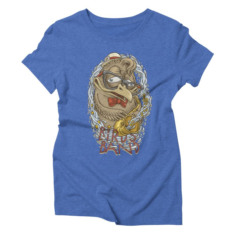 Birds band 2 Women's Triblend T-Shirt by oleggert's Artist Shop