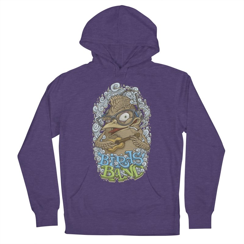 Birds band 3 Women's Pullover Hoody by oleggert's Artist Shop