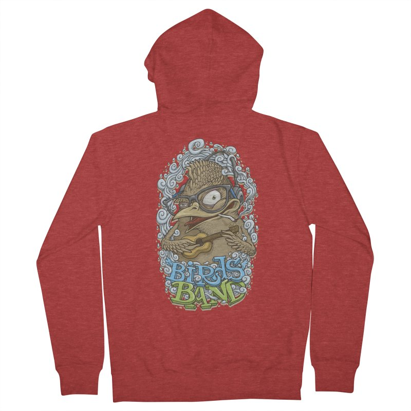 Birds band 3 Men's Zip-Up Hoody by oleggert's Artist Shop
