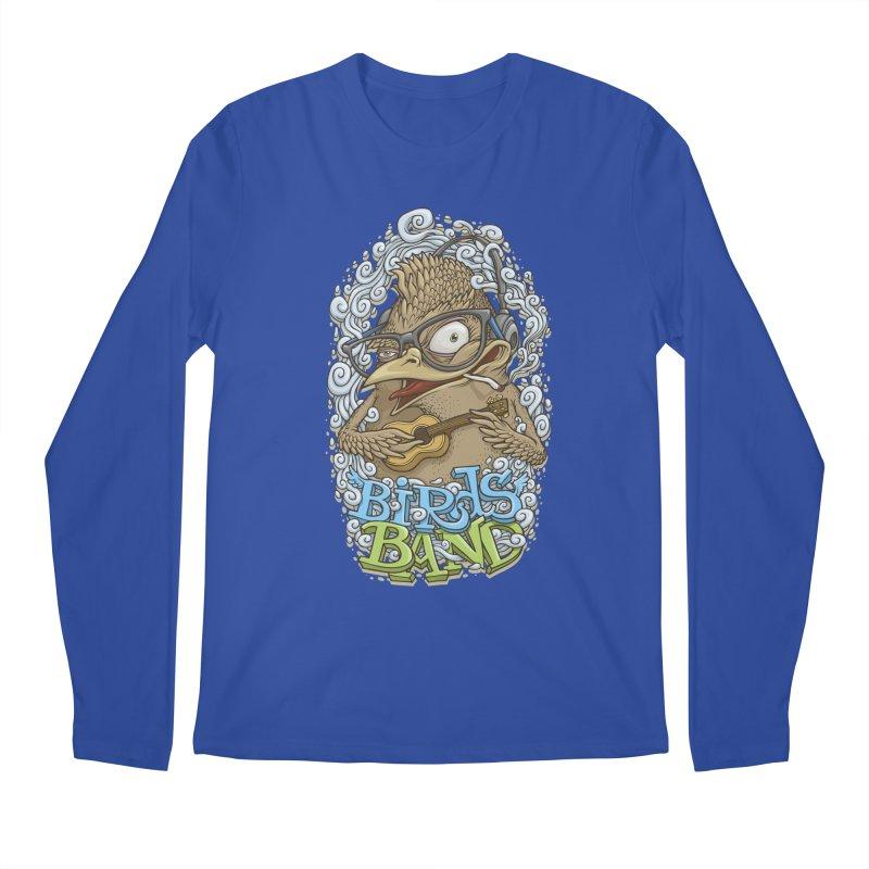 Birds band 3 Men's Longsleeve T-Shirt by oleggert's Artist Shop