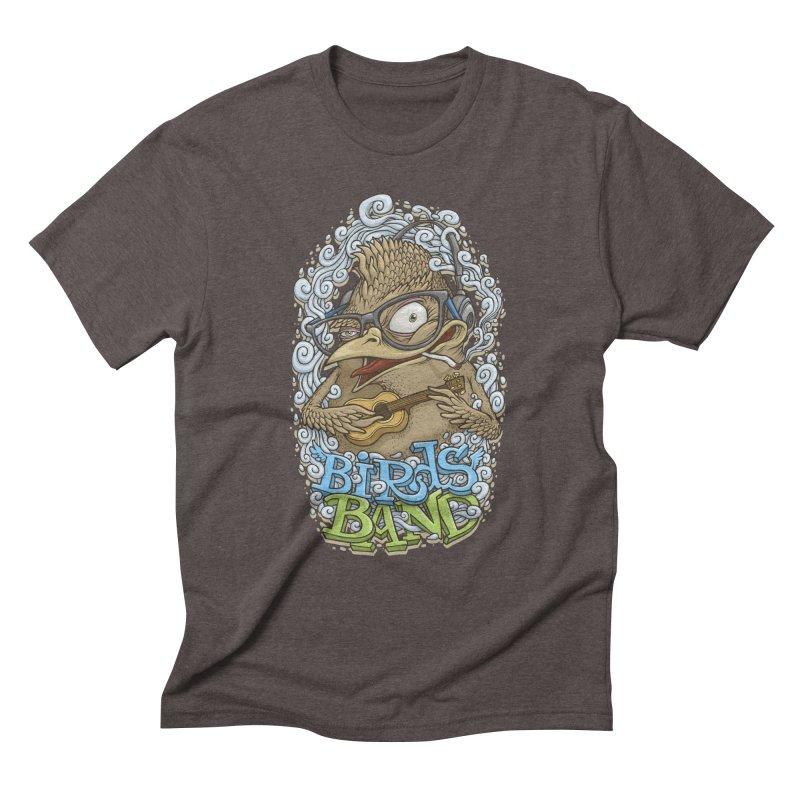 Birds band 3 Men's Triblend T-Shirt by oleggert's Artist Shop