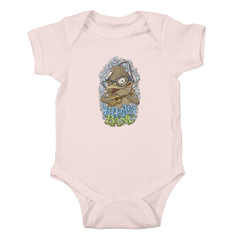Birds band 3 Kids Baby Bodysuit by oleggert's Artist Shop