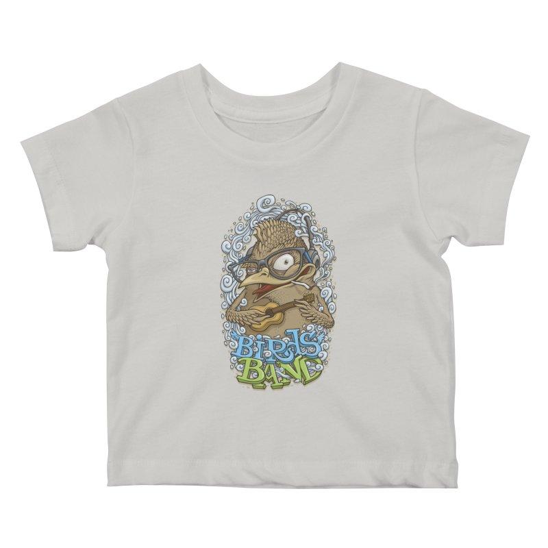 Birds band 3 Kids Baby T-Shirt by oleggert's Artist Shop
