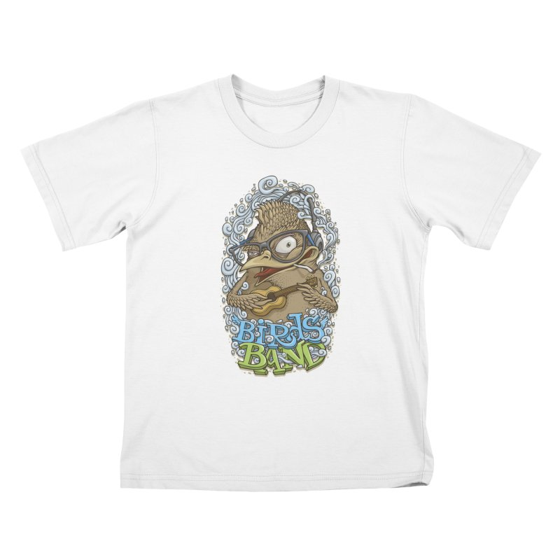 Birds band 3 Kids T-shirt by oleggert's Artist Shop