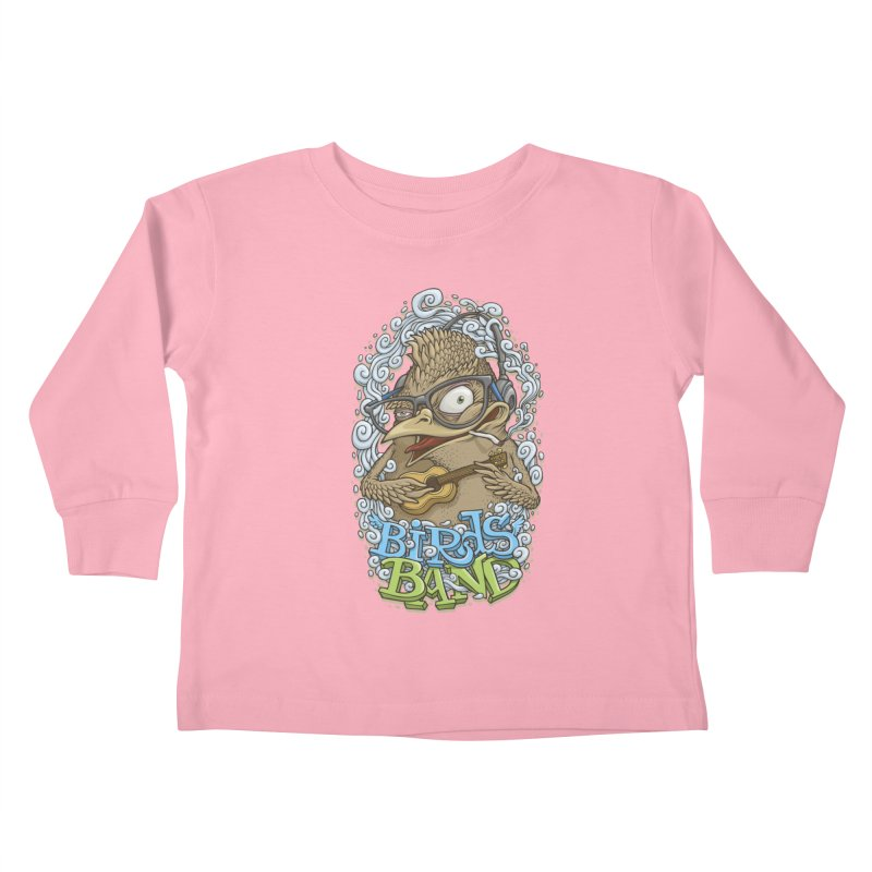 Birds band 3 Kids Toddler Longsleeve T-Shirt by oleggert's Artist Shop