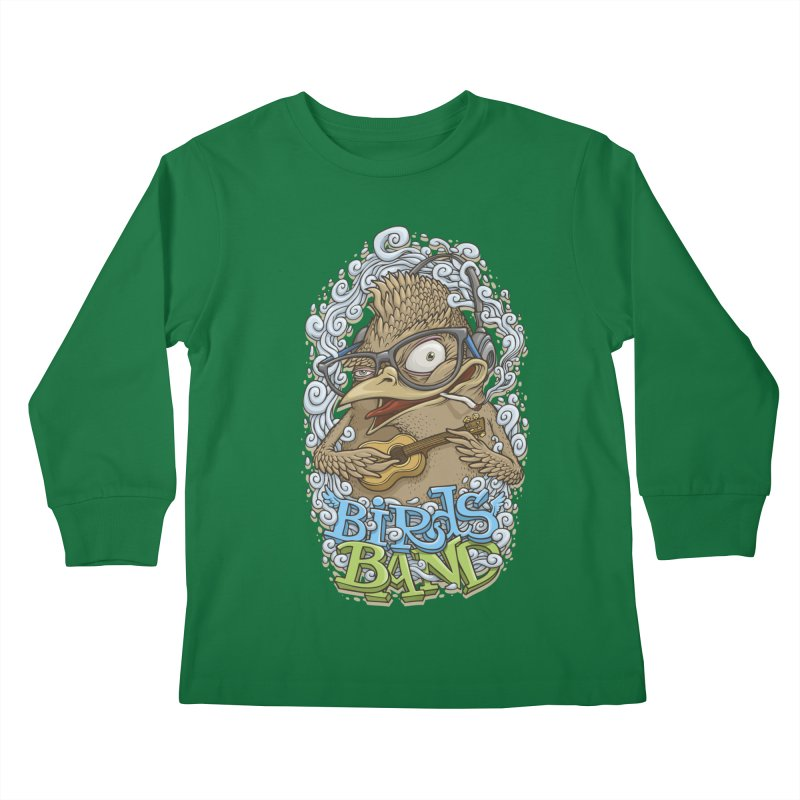 Birds band 3 Kids Longsleeve T-Shirt by oleggert's Artist Shop
