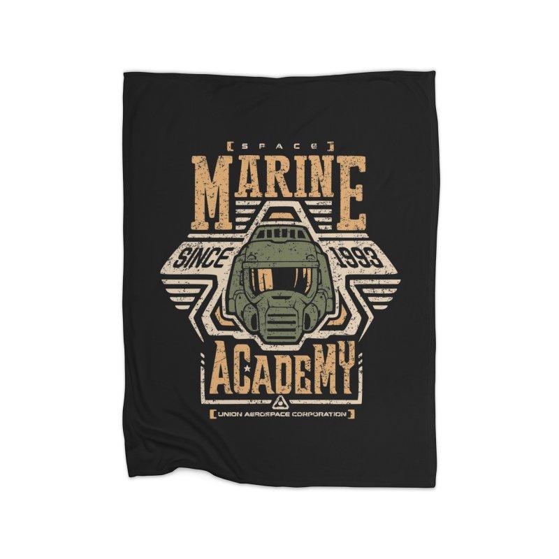 Space Marine Academy Home Blanket by Olipop Art & Design Shop