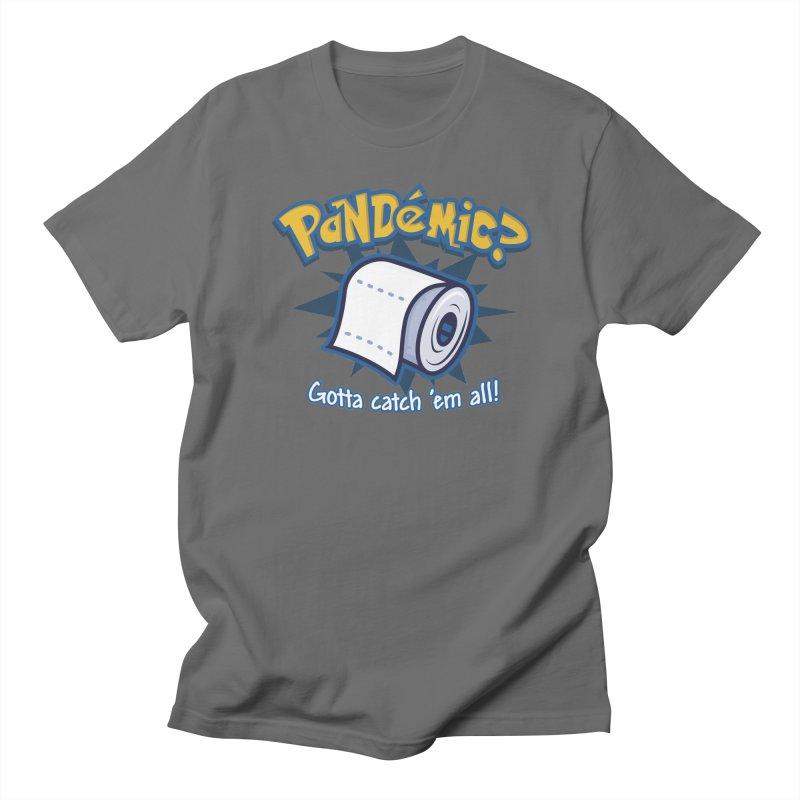 Catch All the Toilet Paper Men's T-Shirt by Olipop Art & Design Shop