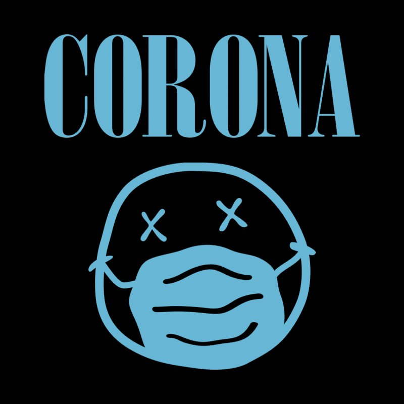 Corona Band Home Throw Pillow by Olipop Art & Design Shop