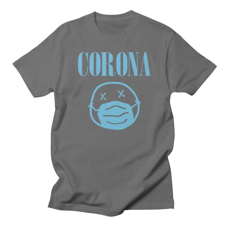 Corona Band Men's T-Shirt by Olipop Art & Design Shop