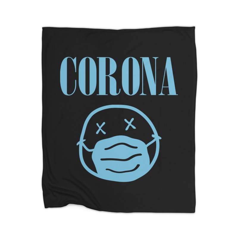 Corona Band Home Blanket by Olipop Art & Design Shop