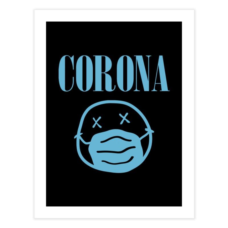 Corona Band Home Fine Art Print by Olipop Art & Design Shop